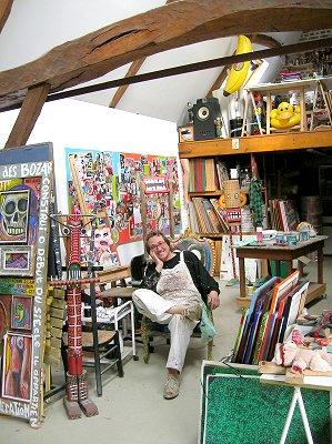 Peintre lille galerie de francis moreeuw artiste peintre - Atelier artiste peintre ...